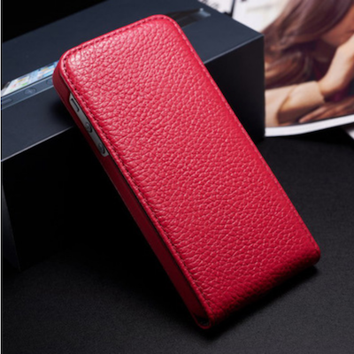 Red PU Leather Hard Case Cover Magnet Close for Apple iphone 5 5G Stylish Hot