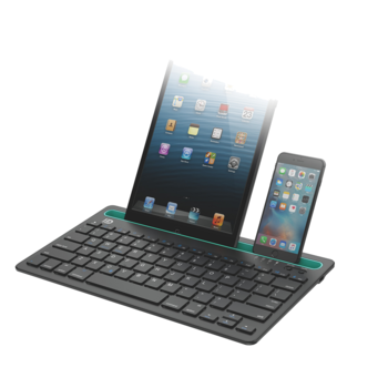 High quality wireless Multi-channel Mini bluetooth keyboard for 7inch tablet pc smartphone laptop tablet pc keyboard