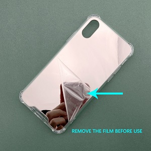 Shockproof TPU PC for iPhone 11 case with mirror cover for iPhone 11 Pro mirror case