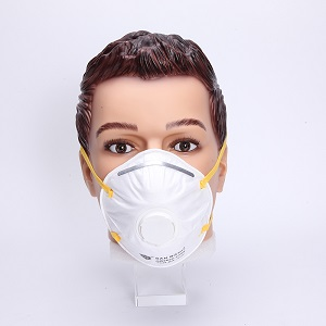 Dustproof disposable non-woven cup type N95 mask